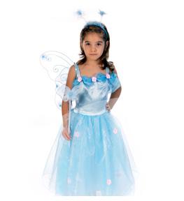 inchirieri costume serbare fluturas bleu Costum serbare FLUTURAS BLEU FATA