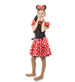 minnie mouse Costum serbare MINNIE MOUSE 2