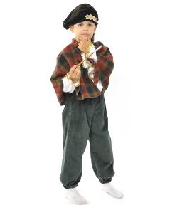 pictorbara trubadur Costum serbare PICTOR/TRUBADUR