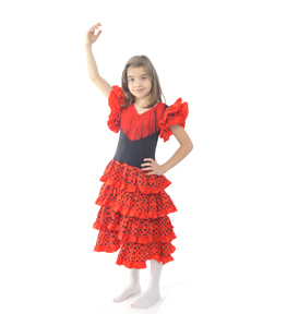 dansatoare Spania Costum serbare SPANIOLOAICA 1/DANSATOARE LATINO 1