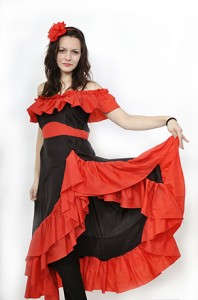 DSC7741 copy 198x300 COSTUM DANSATOARE FLAMENCO ADULT 1